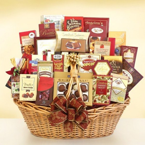 Glorious Gathering | Deluxe Holiday Gift Basket