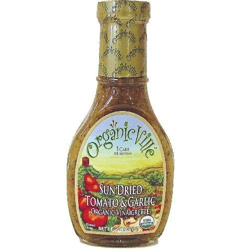 Sun Dried Tomato and Garlic Vinaigrette 8 Ounces Case of 6