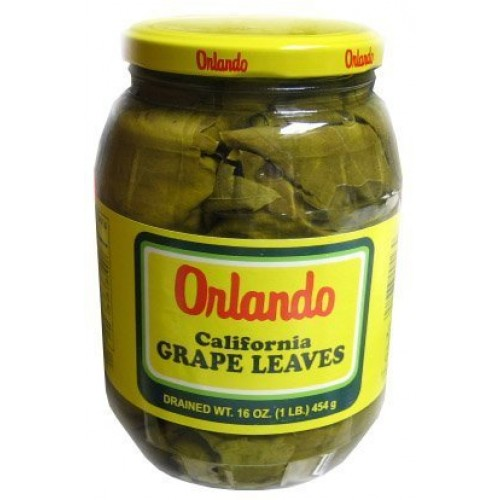 Orlando - California Grape Leaves, 2- 16 oz. Jars