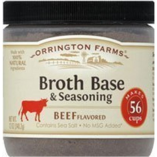 Orrington Farms Beef Broth Base and Seasoning, 12 Ounce Jar Pa...