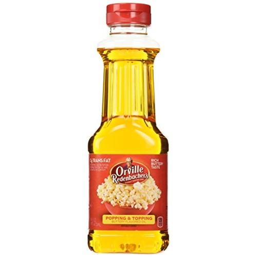 Orville Redenbacher Butter Flavor Popping Oil 16 Oz