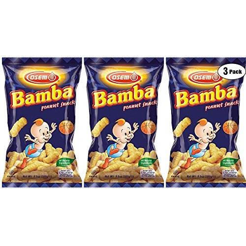 Bamba Peanut Snacks for Babies - All Natural Baby Peanut Puffs 3...