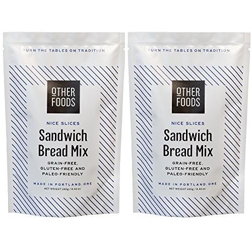 Gluten Free Sandwich Bread Mix - Easy Bake, Grain-Free, Dairy-Fr...