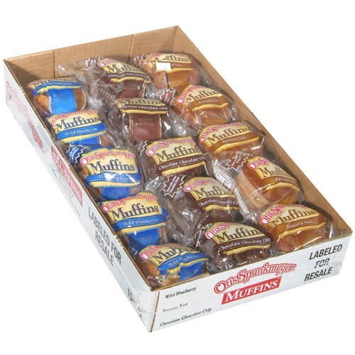 Otis Spunkmeyer Muffins/10 Blueberry/10 Banana Nut/10 Chocolate ...