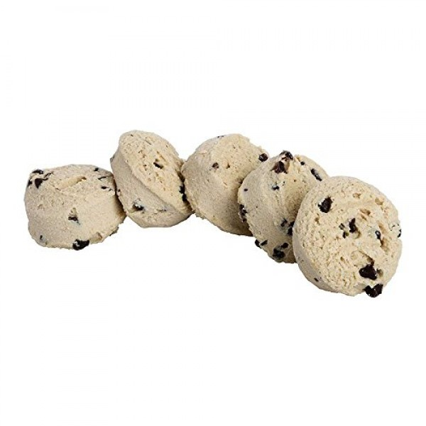Otis Spunkmeyer Value Zone Chocolate Chip Cookies Dough, 1 Ounce...
