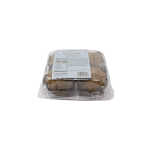Our Specialty Muffins, Baked Fresh, 8 Count Banana Nut Topped W...