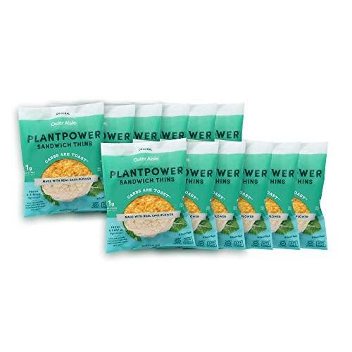 Outer Aisle Cauliflower Sandwich Thins | Low Carb, Paleo Friendl...