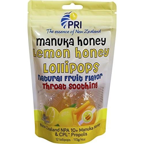 Pacific Resources Childrens Lemon and Manuka Honey Lollipops, 1...