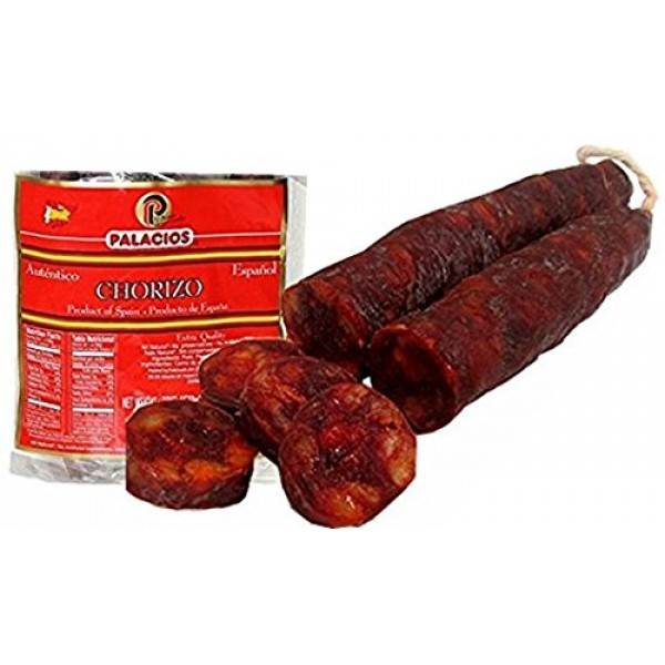 Chorizos Imported from Spain. Packof 4 chorizos. 31.75 onces total