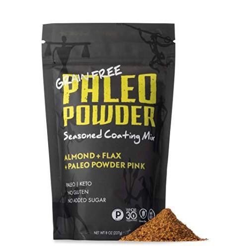 Paleo Powder Seasoned Breading Mix | Almond, Flax with Paleo Pow...