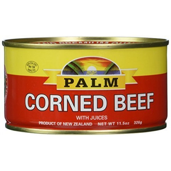 Palm Corned Beef - Premium Quality From New Zealand - 12 x 11.5 ...