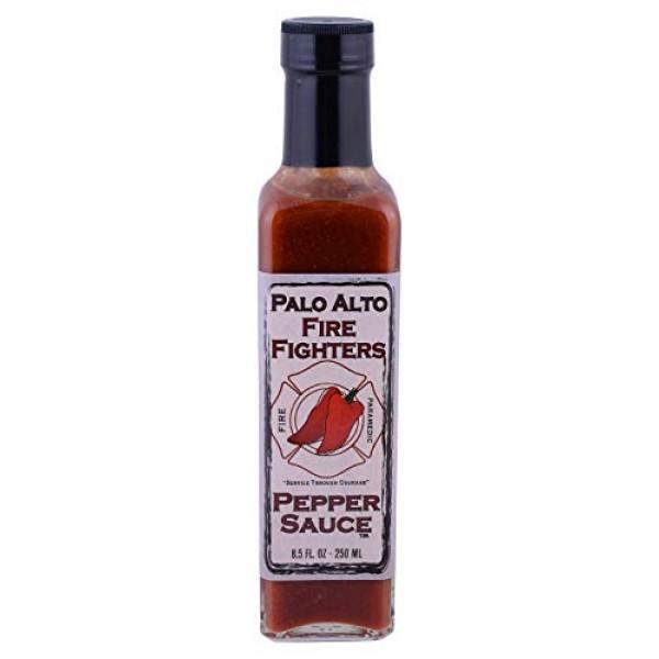 PALO ALTO FIREFIGHTERS Palo Alto Firefighters Pepper Sauce, 8.5 OZ
