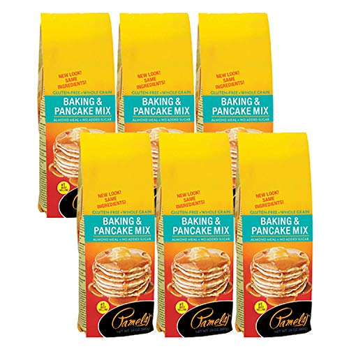 Pamelas Products Gluten and Wheat Free Baking and Pancake Mix -...