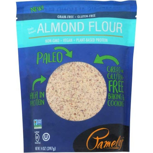 Pamelas Products Almond Flour 14 oz, Paleo, Gluten Free Pack o...