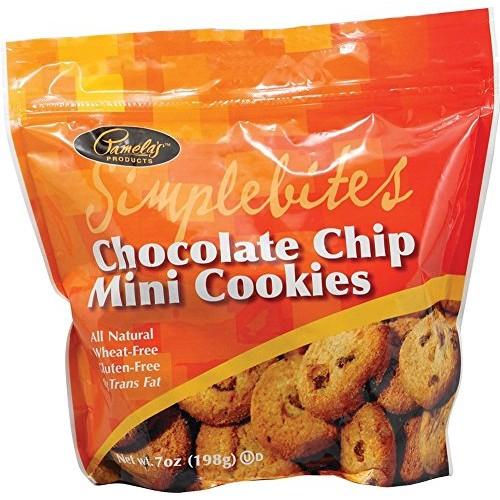 Pamelas Products Chocolate Chip Simplebites Mini cookies, 7 Ounc...