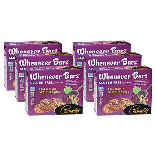 Pamelas Products Whenever Bars Oat Raisin Walnut Spice, 1.41-ou...