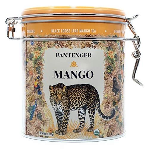 Mango Tea. Mango Tea Loose Leaf 3.5 Oz. Finest USDA Organic Blac...