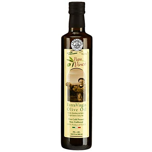 Papa Vince Olive Oil Extra Virgin, First Cold Pressed Family Har...