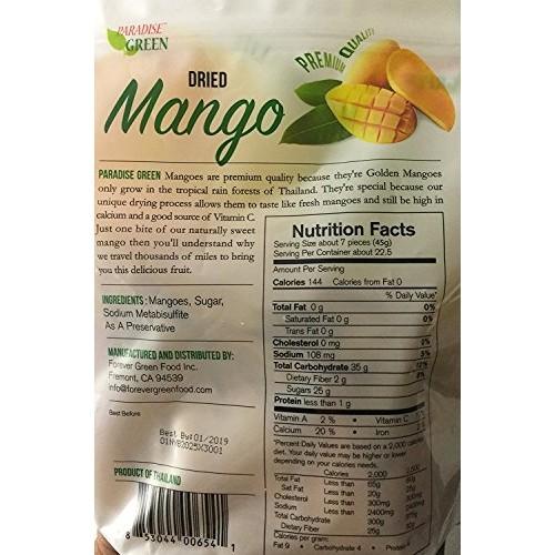Paradise Green Mango Premium Quality Wt. 35.2 Oz