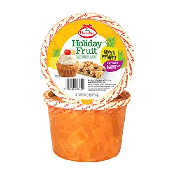 Paradise Pineapple Wedges, 16 Ounce