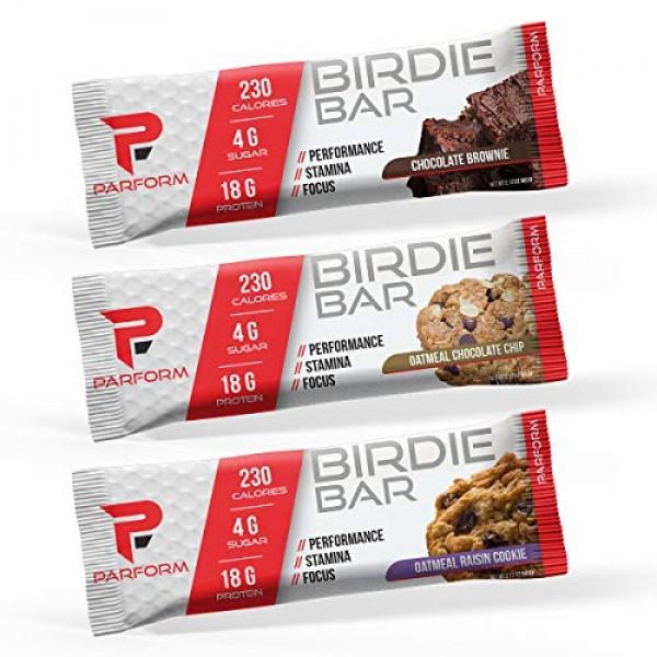 Parform Birdie Bar   High Protein Bar   All-In-One Performance N...