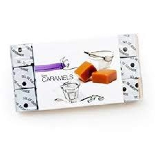 Gourmet Caramels with French Fleur de Sel of Guerande 18pc