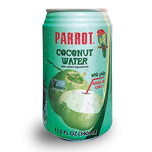 Parrot Brand Coconut Water with Pulp 11.5 fl. oz.Pack of 24