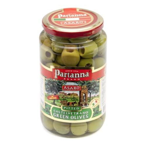 Partanna Pitted Castelvetrano Green Olives - 9 oz