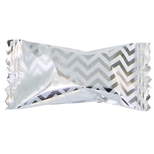 Party Sweets Chevron Silver Buttermints by Hospitality Mints, Ap...