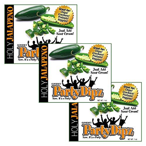 NEW ITEM: 3-Pak PartyDipz Holy Jalapeno Gourmet Dip Mix Packets ...