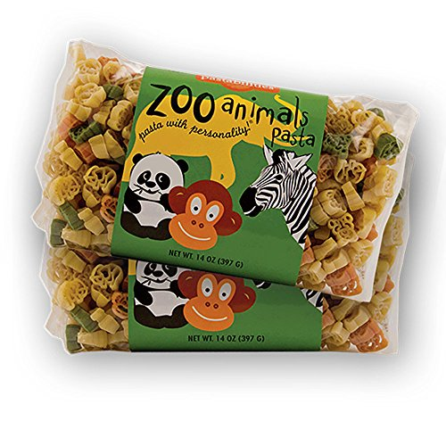 Pastabilities Zoo Animals Pasta, Fun Shaped Noodles for Kids, No...