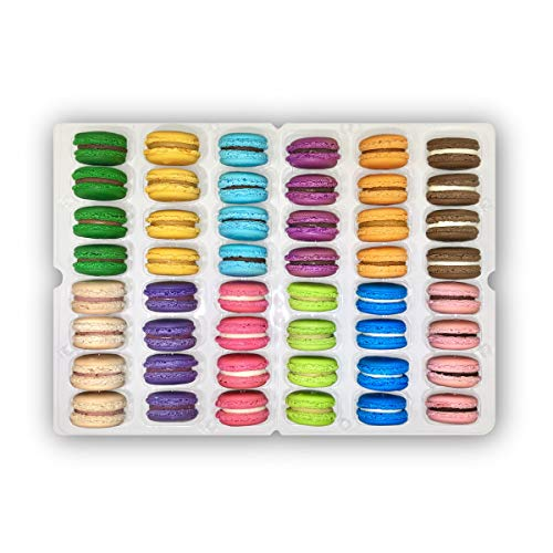 48 Macarons Mix - French Cookies - Baked Upon Order Macaroons wi...