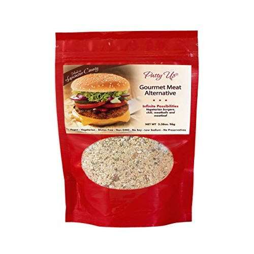 Burris Country Kitchen Burger Vegetarian Mix Patty Up 3.38 Ounce