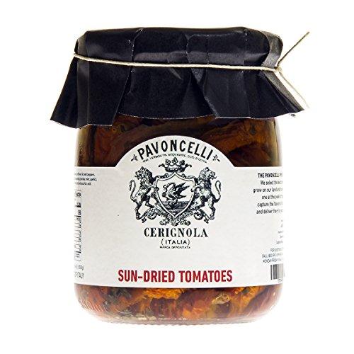 Pavoncelli Sun Dried Tomatoes with Italian Seasoning 3 x 19.4 o...