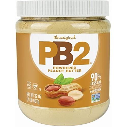 PB2 Original Powdered Peanut Butter - [2 Lb/32oz Jar] 6g of Prot...