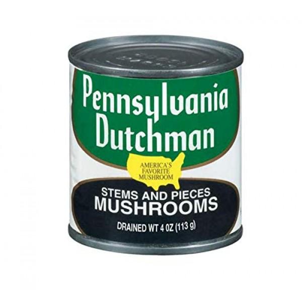 Giorgio Pennsylvania Dutchman Mushroom Pieces and Stems, 12 pk |...