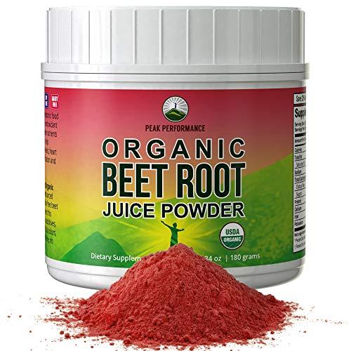 Organic Beet Root Powder - Highest Quality Super Food Beets Juic...