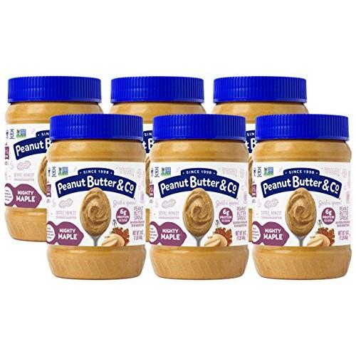 Peanut Butter & Co. Mighty Maple Peanut Butter, Non-GMO, Gluten ...