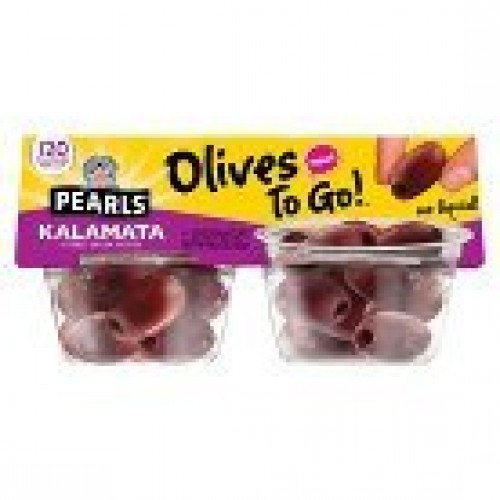 Pearls Kalamata Olives to Go 4 ct