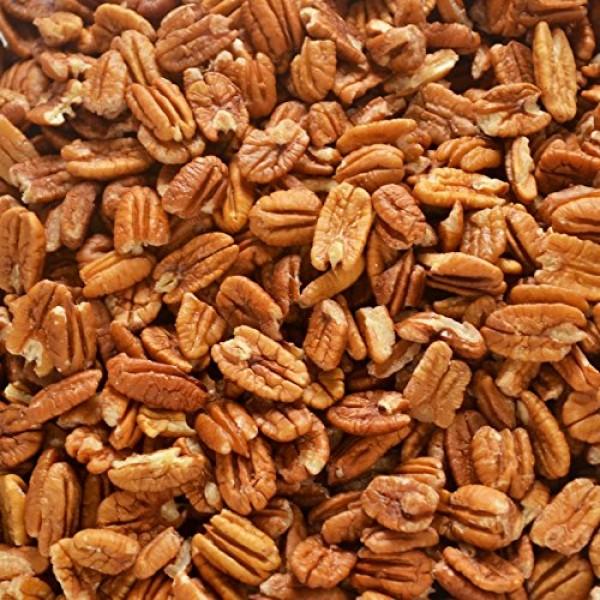Fresh Shelled Texas Native Pecan Halves - Certified Pesticide-fr...