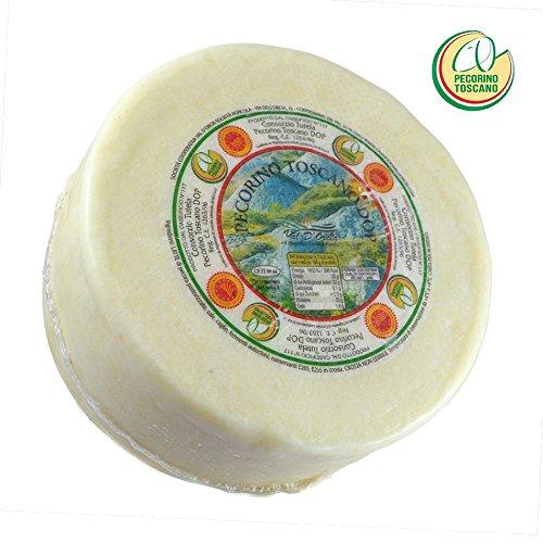 Pecorino Toscano PDO - Sheep Cheese - Whole wheel 5 lbs/Kg.2.3