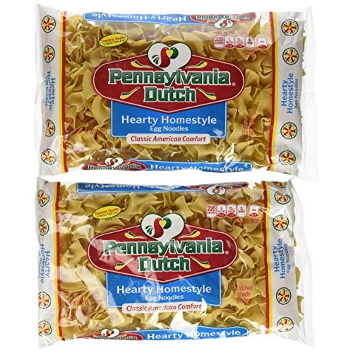 Pennsylvania Dutch Hearty Homestyle Egg Noodles, 12 Oz. Bag (Qua...