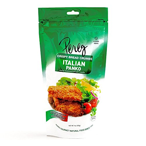 Pereg Italian Seasoned Panko Breadcrumbs 9 oz each 5 Items Per ...