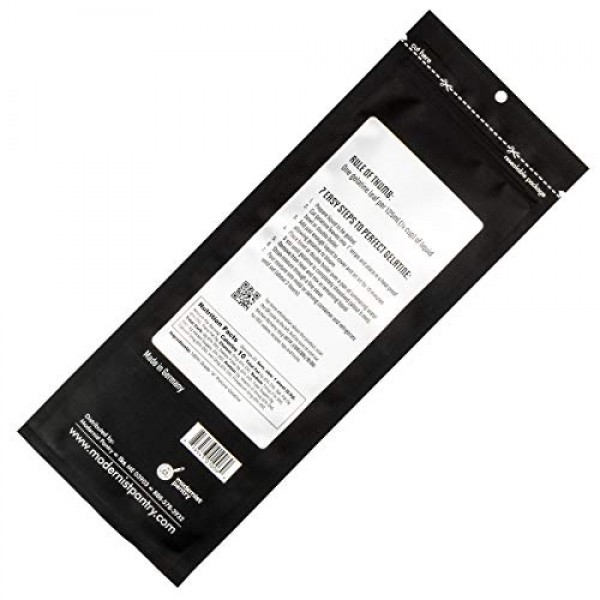 PerfectaGel Silver Gelatin Sheets 170 Bloom - 20 Sheets