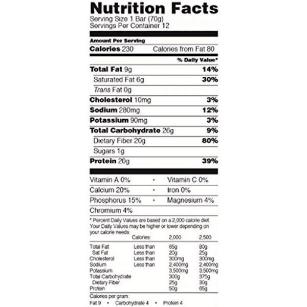 Performance Inspired Nutrition bar, Vanilla Almond, 12Count