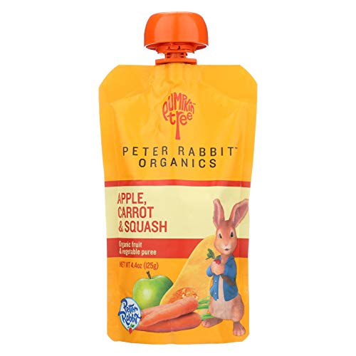 Peter Rabbit Organics 100% Veg and Fruit Puree Carrot Squash and...