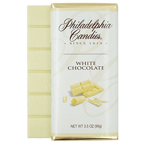 Philadelphia Candies White Chocolate Bar, 3.5-Ounce Packages Pa...