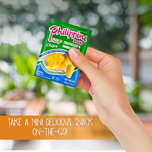 Philippine Brand Dried Mangoes Fruit Snacks {12 PACK} All Natura...
