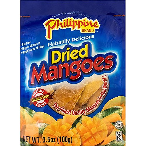 Phillippine Brand Naturally Delicious Dried Mangoes Tree Ripened...