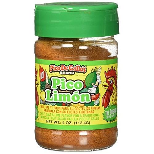 Pico De Gallos Authentic Pico Limon Seasoning, 4oz, Locally Pro...